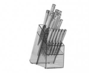17pc Knife Block set