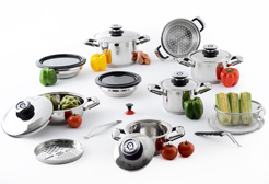 21 pc Platinum Cookware set