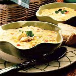 Velvety Crab and Corn Soup