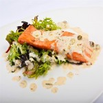 salmon with lemon capers sauce recipe
