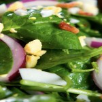 Spinach Salad With Applewood Smoked Bacon
